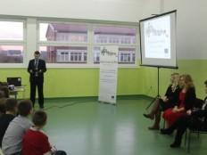 Prezentacija u OŠ ''Đuro Pilar'' (Foto: slavonski-brod.hr)